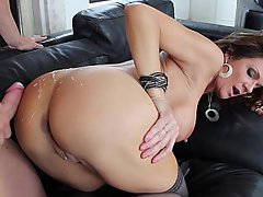 Anal, Big Tits, Brunette, Doggystyle