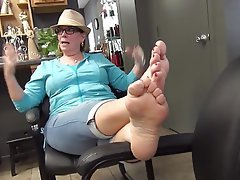Amateur, Foot Fetish, Mature, Mature
