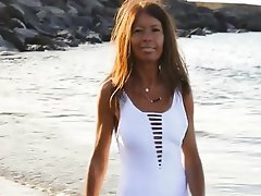 Amateur, Beach, Mature, Spanish