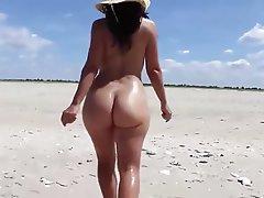 Beach, Mature, Big Butts, Nudist
