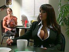 Big Tits, Pornstar, Blowjob, Brunette