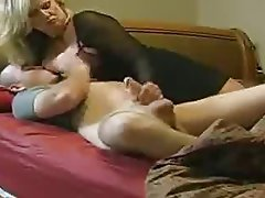 Blonde, Handjob, Hardcore, Mature