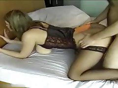 Amateur, Big Boobs, Blowjob, Stockings