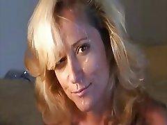 Amateur, Blonde, Facial, Mature