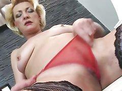 Blonde, Close Up, Mature, MILF